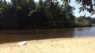 Rio Itamambuca, acesso pelo Tio Gato