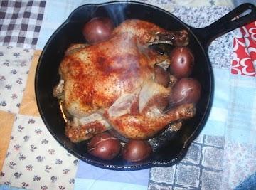Sunday Roast Chicken Dinner Recipe