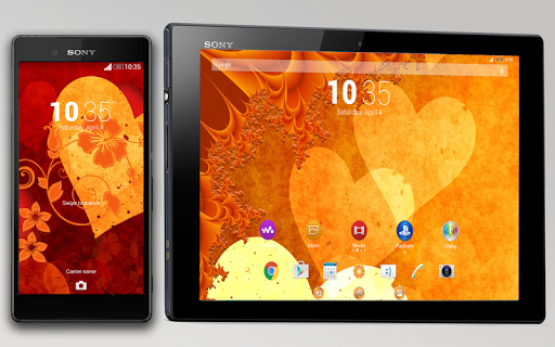 Hearts for XPERIA™