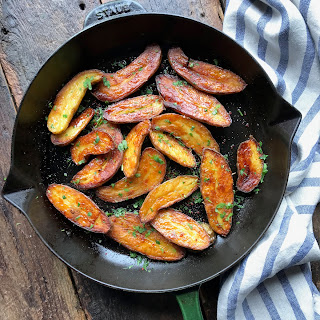 Crunchy Fingerling Potatoes.