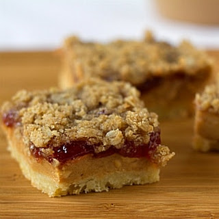 Peanut Butter and Jelly Pie Bars Recipe