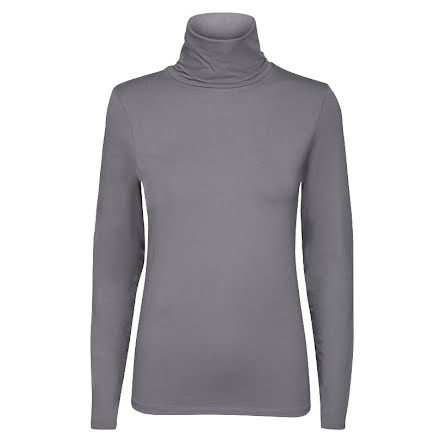 Ilse Jacobsen womens roll neck smoked pearl
