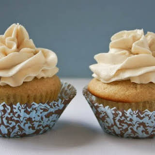 Vanilla Cupcakes for Two.