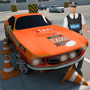 Police Car Multistory Parking: Town Crime Control