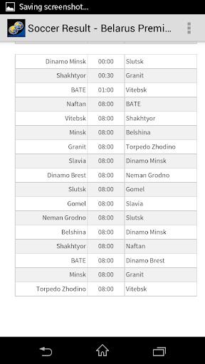 Soccer Result - Belarus PL|玩運動App免費|玩APPs