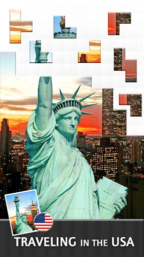 Jigsaw Journey u2013 relajarse, viajar y compartir capturas de pantalla 6