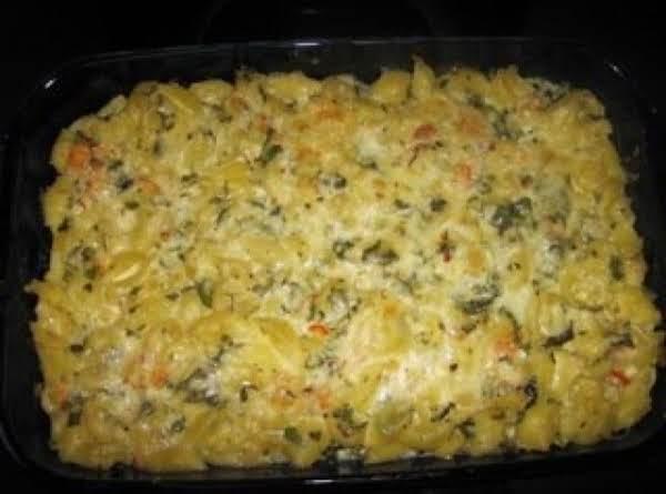 Spicy Basil Shrimp Mac And Cheese Recipe