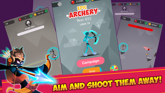 Stickman Epic Archer мод