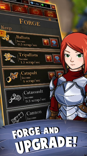 Castle Fusion Idle Clicker apkdebit screenshots 4