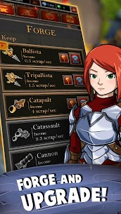 Castle Fusion Idle Clicker Mod Apk (MERGE + No Ads) 4