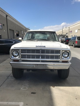 1979 Dodge Ramcharger Hire CA