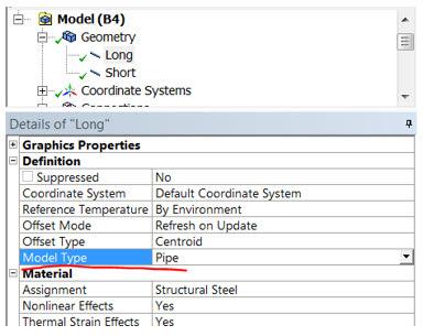 ANSYS - Работа с геометрическими моделями