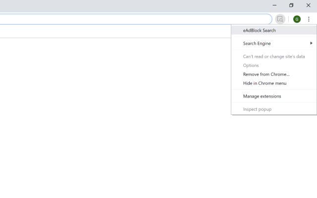 eAdBlock Search