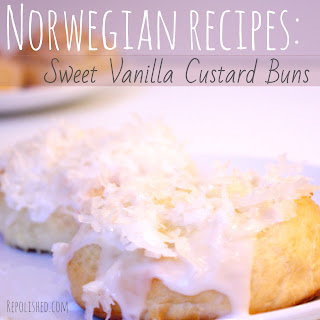 Sweet Vanilla Custard Buns! Recipe