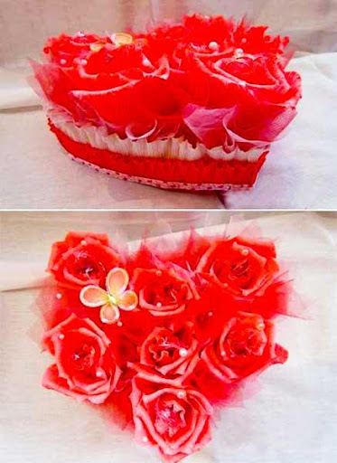 DIY Craft Flower Decoration