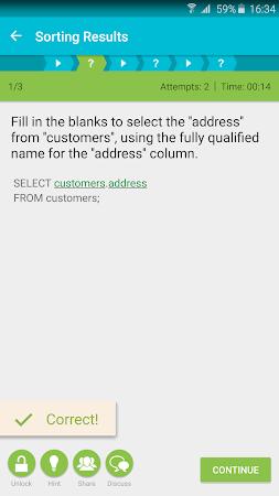 Learn SQL 3.0.3 screenshot 262651