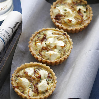 Herb and Goat Cheese Tarts