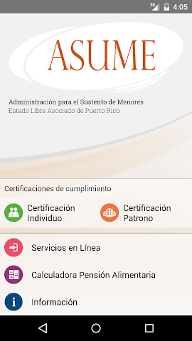 android ASUME Screenshot 0