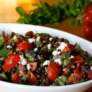 Lentil Salad Feta Cucumber Recipes
