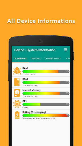 Device Informations v1 0 9 - Android Applications - ANDROID ZONE