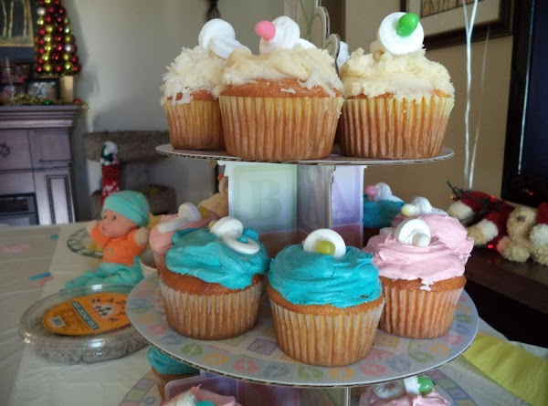 Here's another picture of the cupcakes. You can create these however you want but...