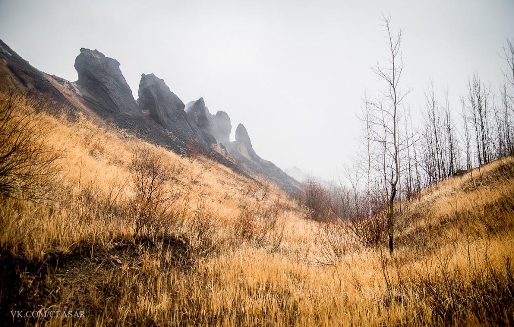 Здоровенные куски каменного угля