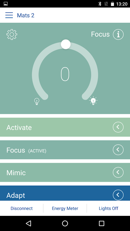 e-Sense Tune- screenshot