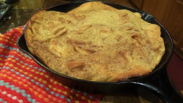 My German Apple Pancake