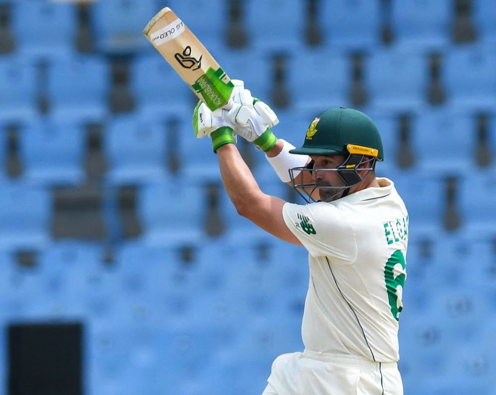 Skipper Elgar leads Proteas' day one fightback in second Test in St Lucia