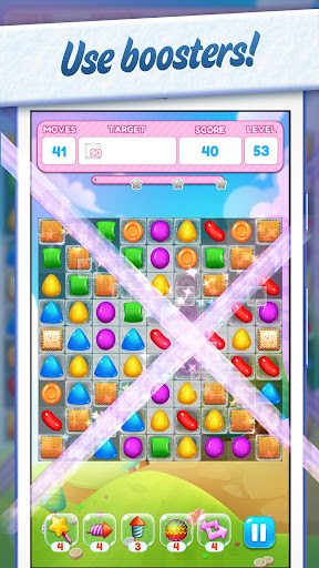 Sweet Candy Yummy ud83cudf6e Color Match Crush Puzzle 1.1.0 androidappsheaven.com 3