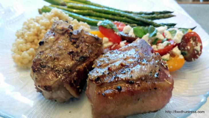 Grilled Mediterranean Lamb Chops Recipe