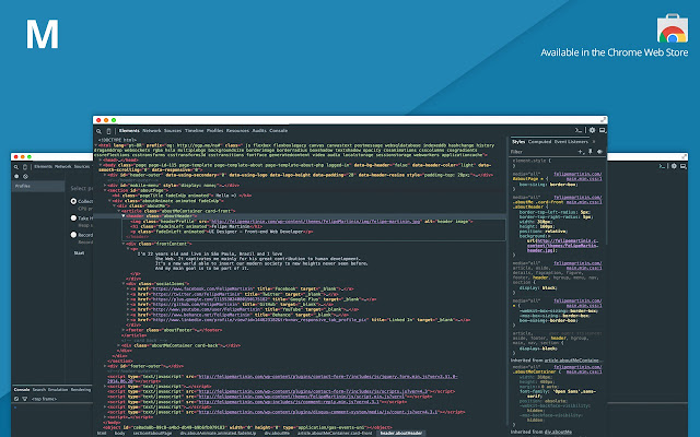 Material Design Theme for Chrome Devtools