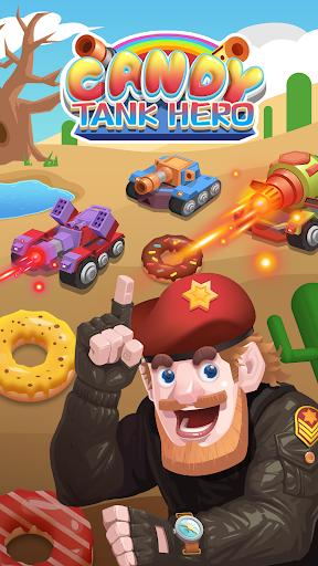 Candy Tank Hero - Merge&Idle Game apktram screenshots 1