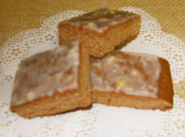 German Honey Bars Recipe