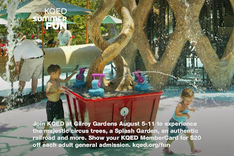 Photo: Join KQED at Gilroy Gardens Family Theme Park August 5-11 and experience the majestic circus trees, a Splash Garden, an authentic railroad, 40 rides and more. Show your KQED MemberCard for $20 off each adult general admission. http://ow.ly/nAf3Q