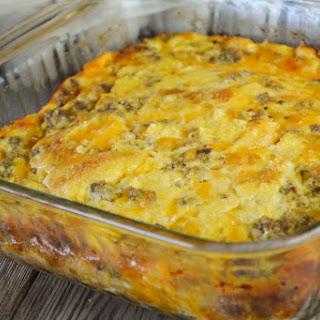 Egg and Sausage Breakfast Casserole Recipe