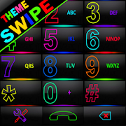 THEME SWIPE DIALER SPETRA COLORS GLASS