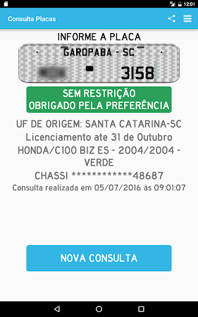 Consultar Placas Detran 2.7.10 screenshot 642229