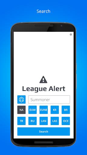 League Alert for LoL