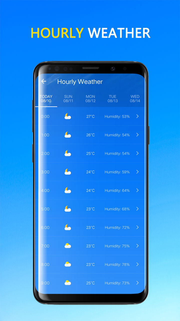 Weather Forecast Screenshot 4