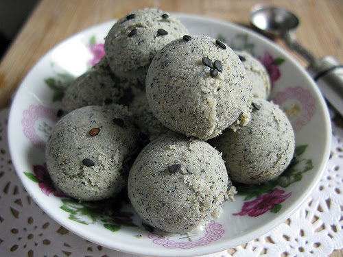 black sesame, ice cream, no machine, sesame, recipe, 黑芝麻, 雪糕, 冰淇淋