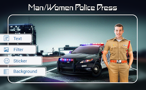 Download Police Photo Suit : Men - Women Police Dress For PC Windows and Mac apk screenshot 1
