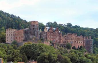 Photo: das Heidelberger Schloss