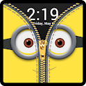 Zipper Lock Screen Yellow icon