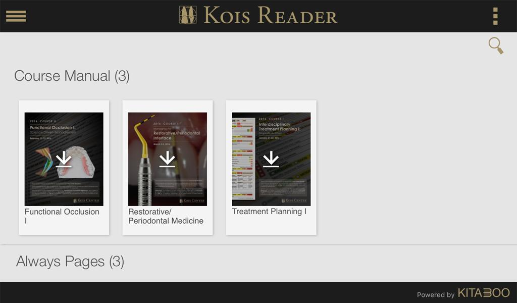 Kois Reader- screenshot