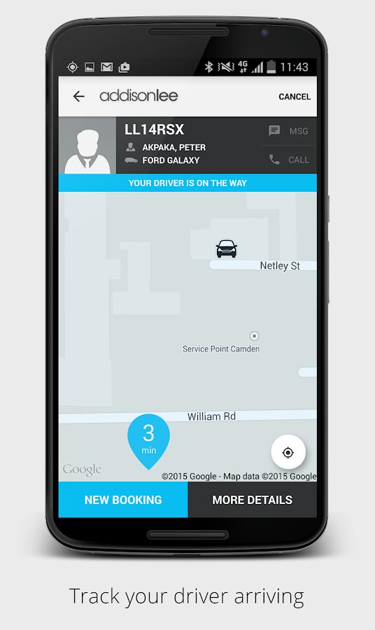 Addison Lee – London Minicabs - screenshot