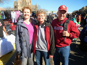 Photo: Elder & Sister Nye at the Grahamstown Festival who we replaced upon their release.