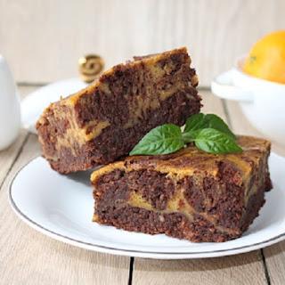 4-Ingredient Pumpkin Brownies.