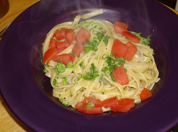 Fettuccine With Broccoli Recipe
