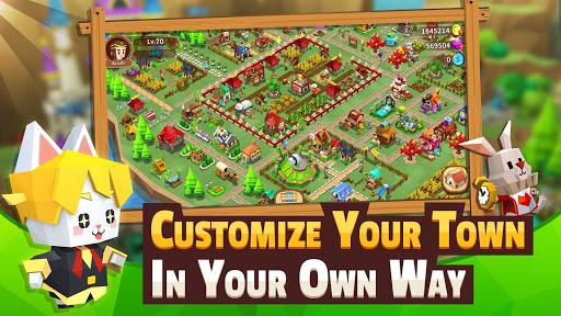 Garena Fantasy Town APK MOD (Astuce) screenshots 1